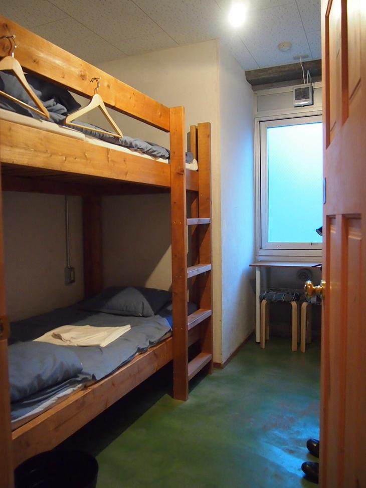 宿泊のお部屋はこんな感じだったり。