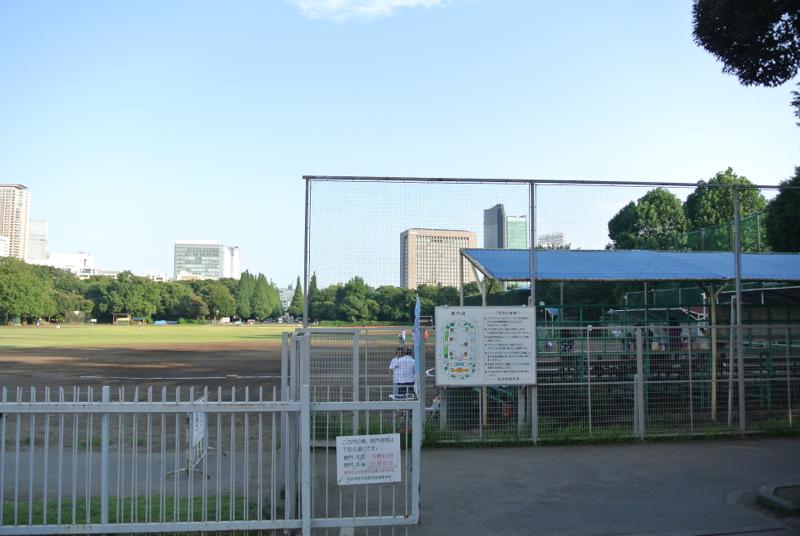 野球場ありました