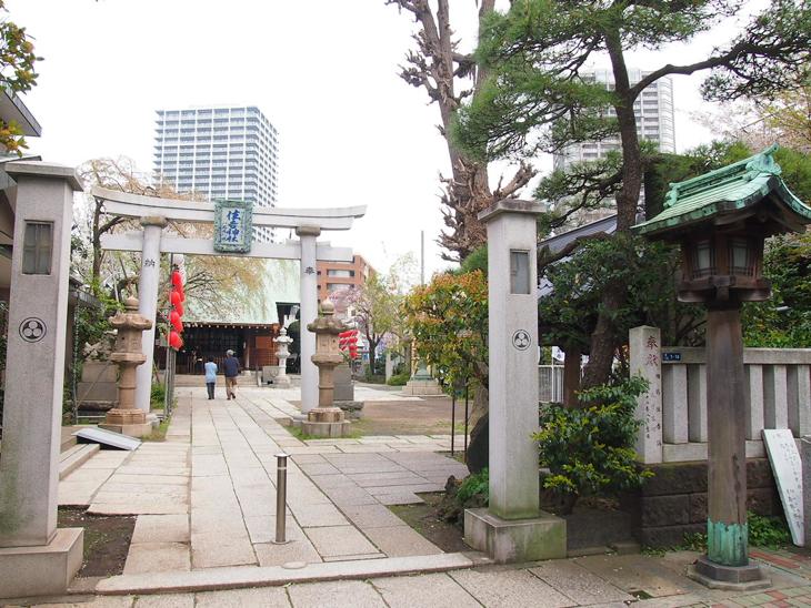 こぢんまりとした落ち着いた神社です。