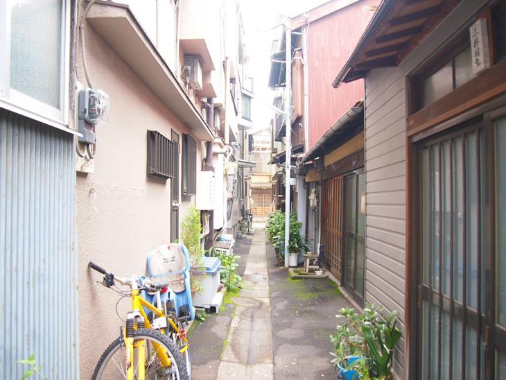 無造作に置かれた自転車が雰囲気ありません?笑 この取られないという安心感。。