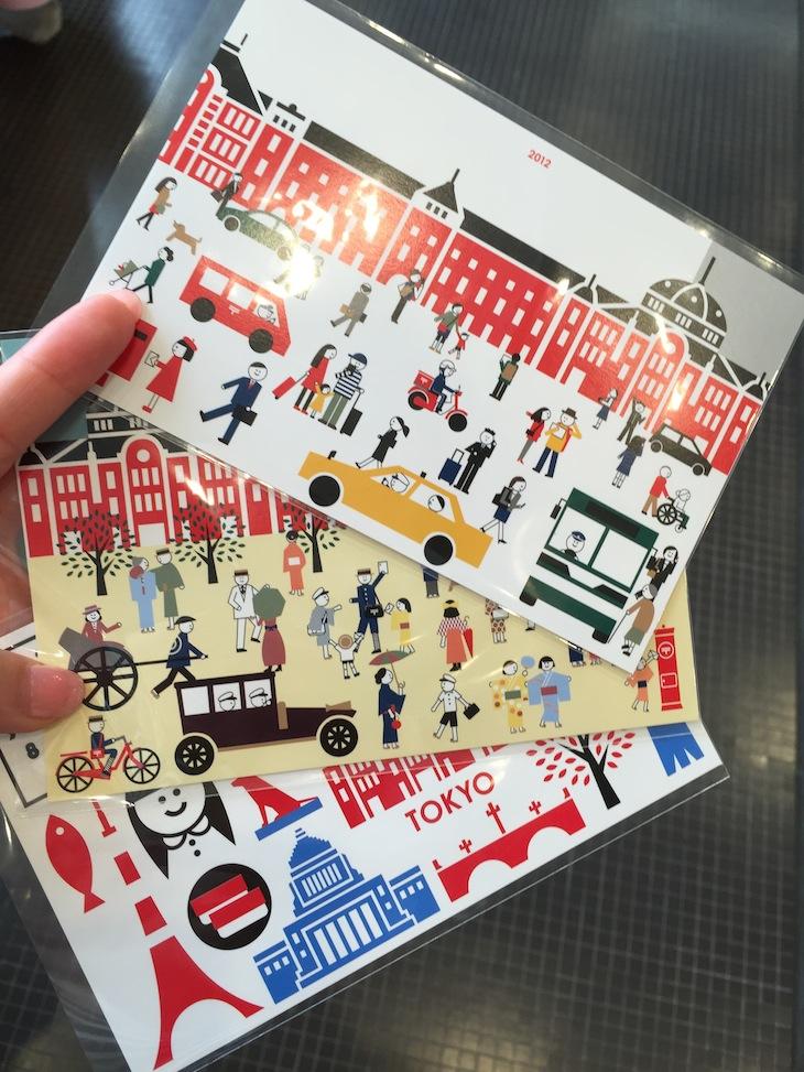 東京駅限定ポストカード