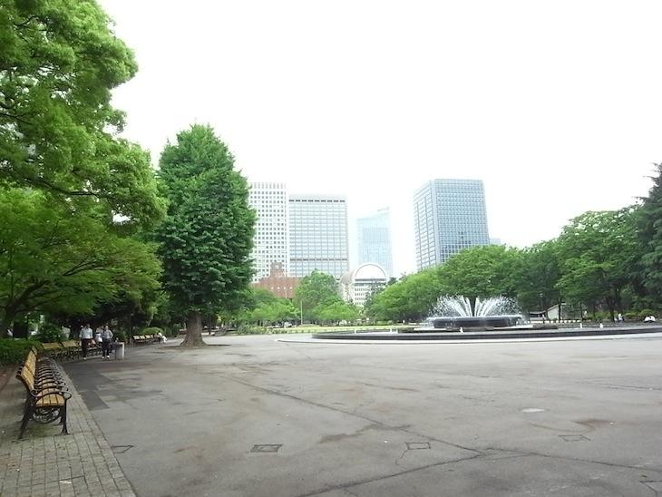 日比谷公園噴水広場
