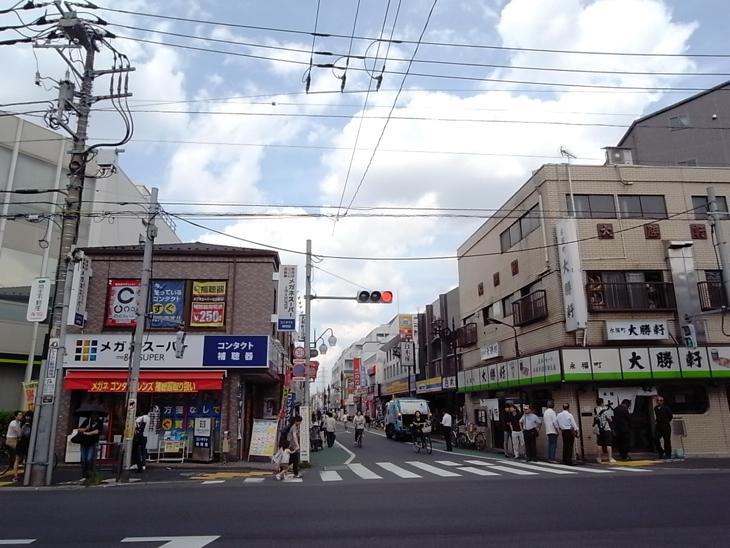 永福町北口商店街
