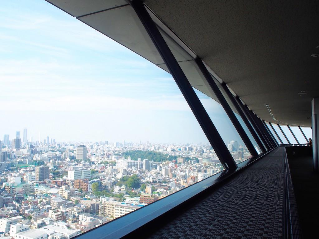 26階からの景色はとても綺麗です。