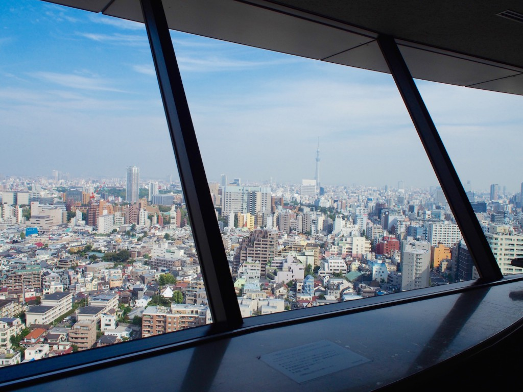 東京スカイツリーも見えるんです。