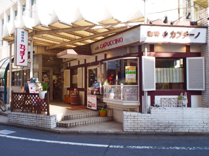 また雰囲気のあるカフェ。