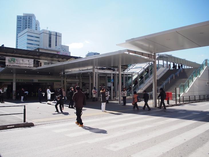中野駅の北口、最近綺麗になりました。