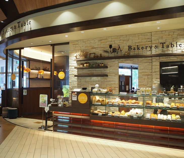 Bakery&Table箱根:足湯が出来るカフェ