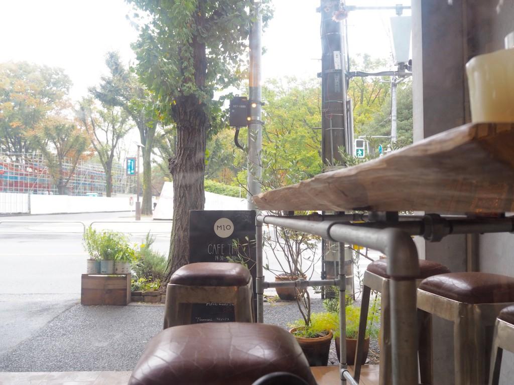 窓から駒沢公園が見える 晴れてたらテラスも良い
