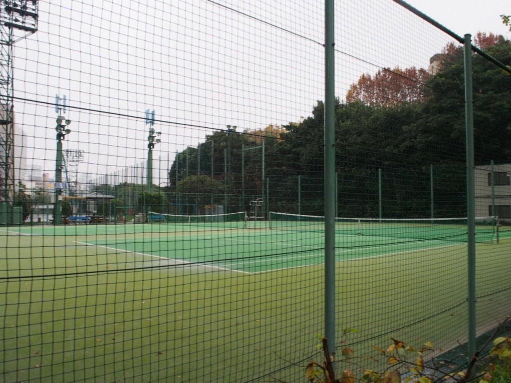 綺麗なテニスコート