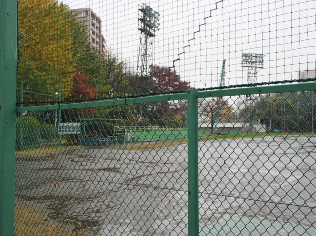 野球場がこんなところにあるんですね!