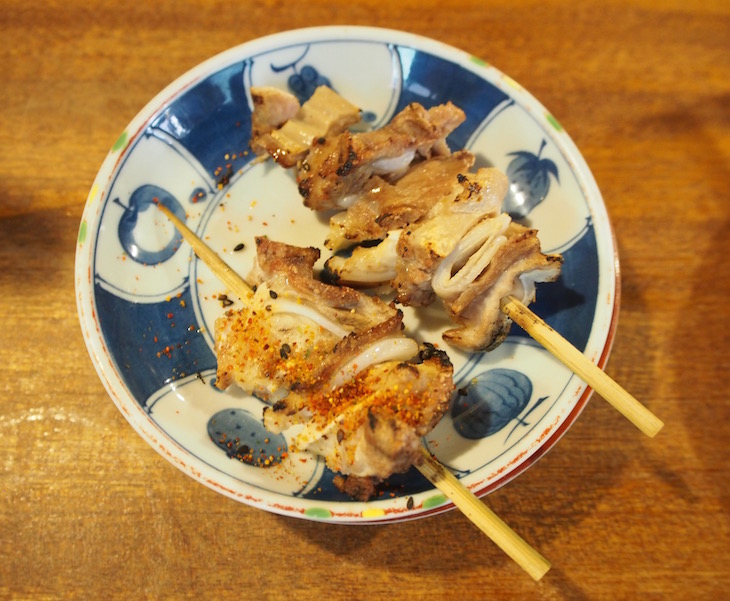 軟骨です。(ちょっと食べちゃいました…。)