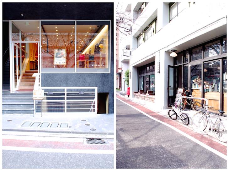 土屋鞄「童具店」(左)と、「THE WORKS」(右)。