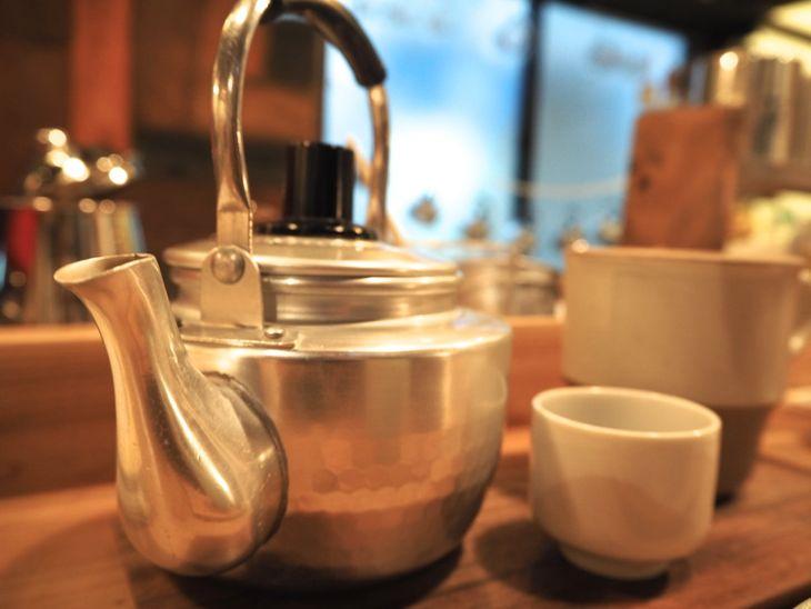 中国茶も美味しいのです。