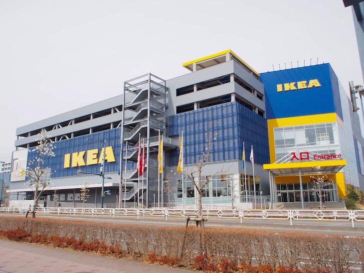 東京初の店舗IKEAは超広大