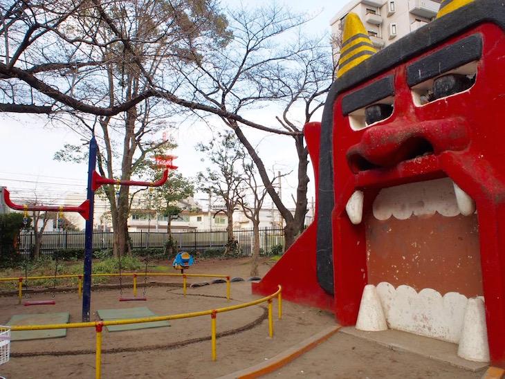 アニメの舞台にもなった「オニ公園」