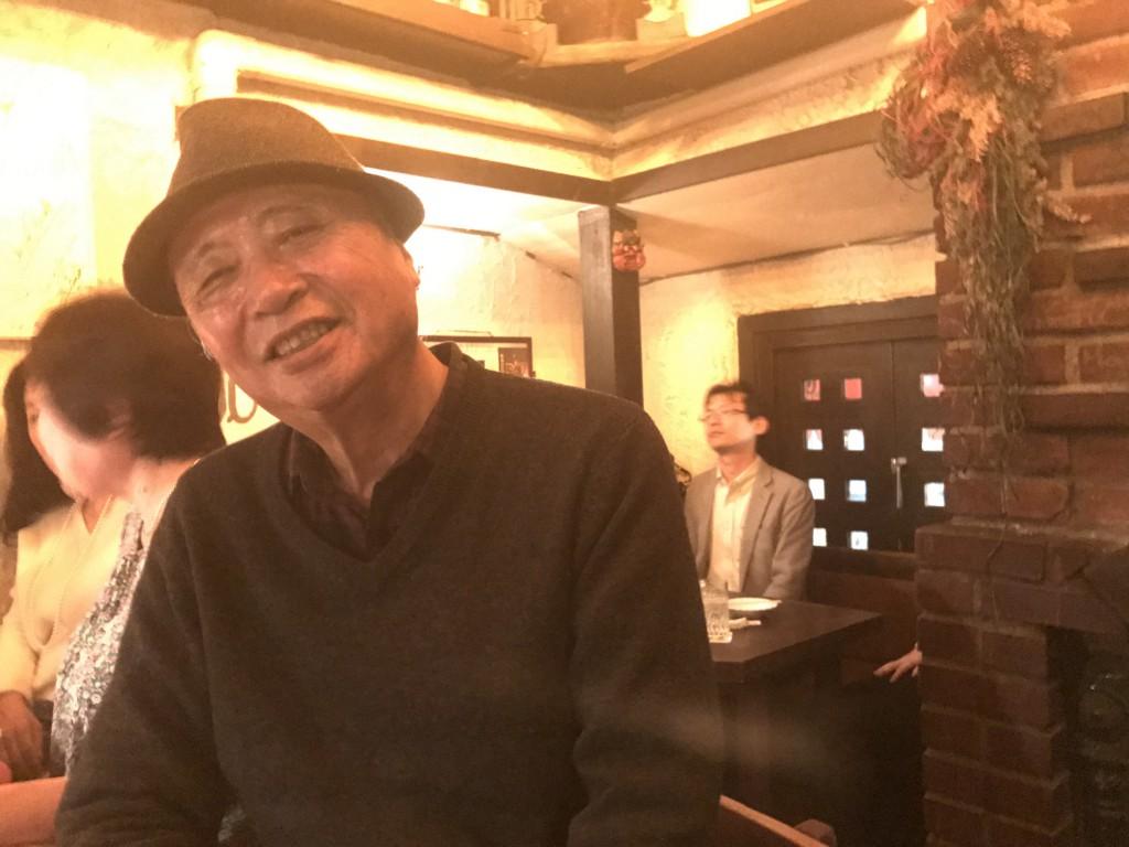 御歳80歳の佐藤さん。とっても楽しい方でした。