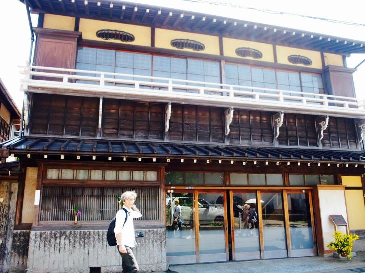 竣工は昭和2年。関東大震災で倒壊し、その後再建されたそうです。