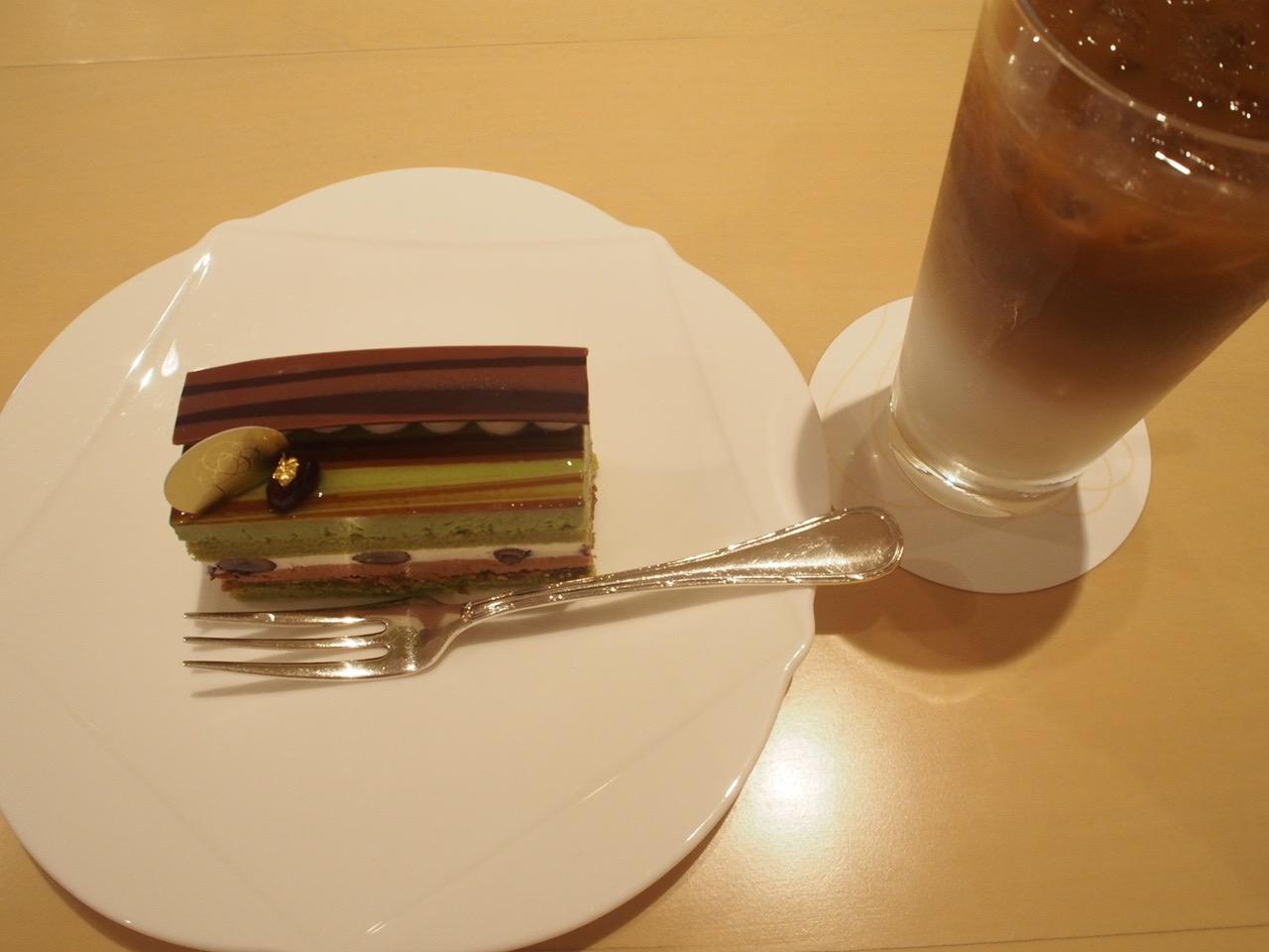 碧〜みどり〜ケーキセット¥850