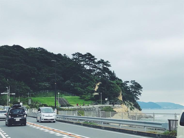 稲村ヶ崎公園。