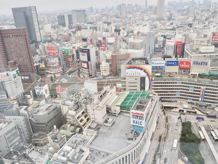 エルタワー30階スカイルームからの眺め(昼)