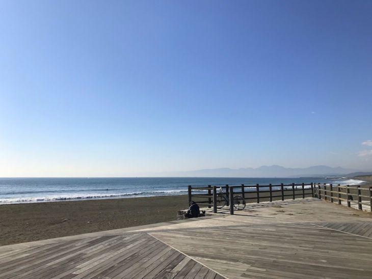 海まで散歩したいもの