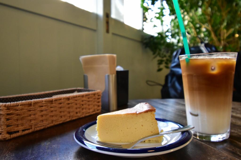 一番人気のチーズケーキ