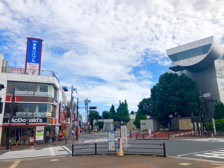 大岡山南口商店街エリアです。