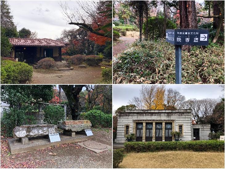 旧邸内に残る大正期の2つの建物「晩香廬」と「青淵文庫」はいずれも国指定重要文化財に指定されています。