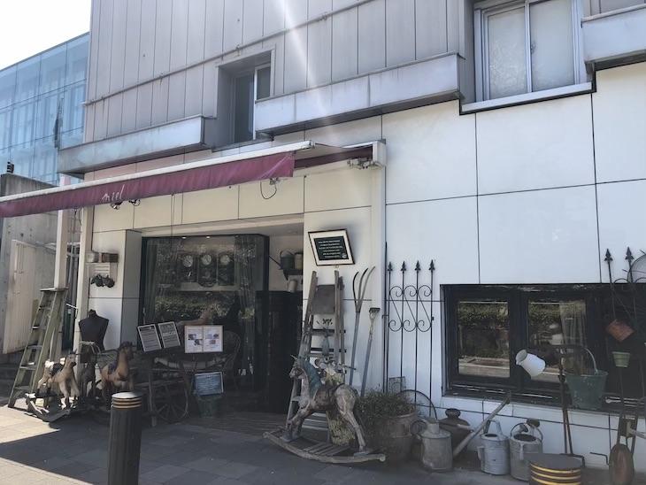 古道具屋さんかと思ったら、かなり雰囲気のある喫茶店でした。
